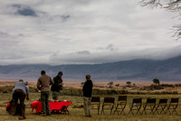 Preparing lunch in Ngorongoro Crater