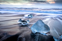 Ice formations at Ice Beach